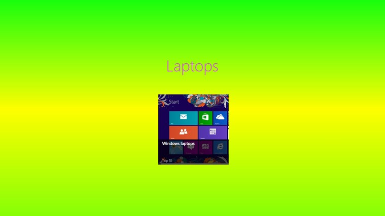 windows 8 laptops screen shot 0