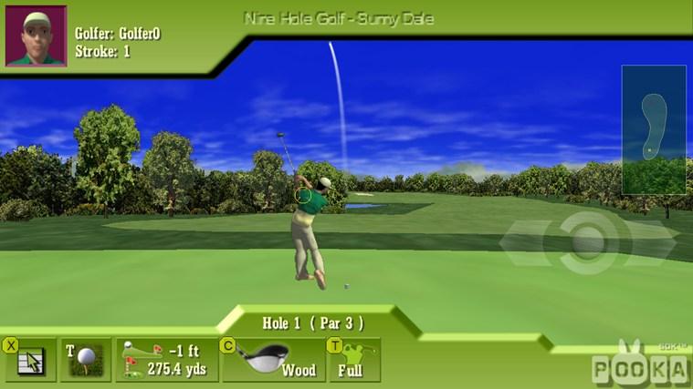 3d nine hole golf: