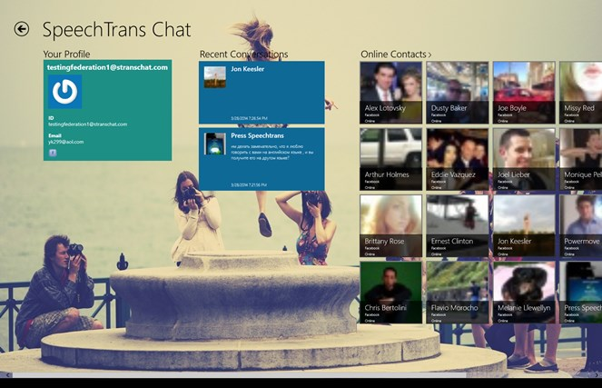 SpeechTrans Ultimate screen shot 2
