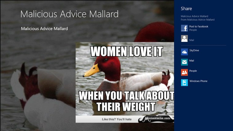Malicious Advice Mallard screen shot 0