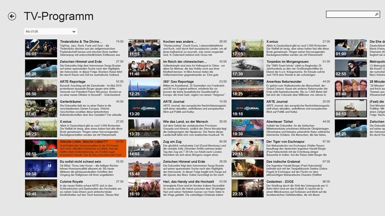 ARTE TV Screenshot 4