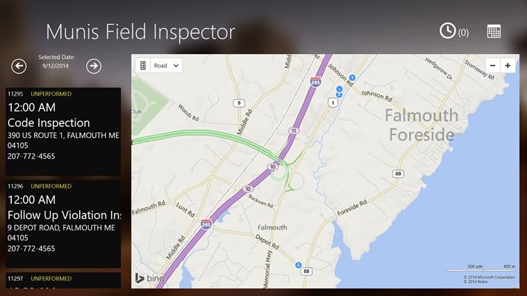 Munis Field Inspector screen shot 0