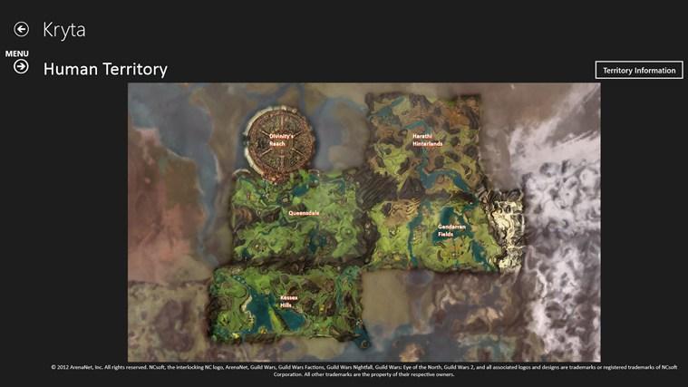 Unofficial Guild Wars 2 Atlas Ad Free snimka zaslona 4