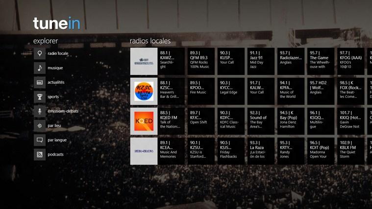 TuneIn Radio capture d'écran 0