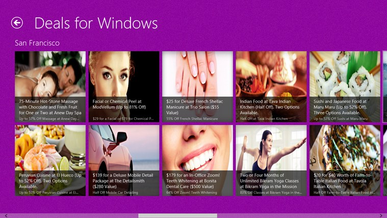 Deals for Windows screen shot 0
