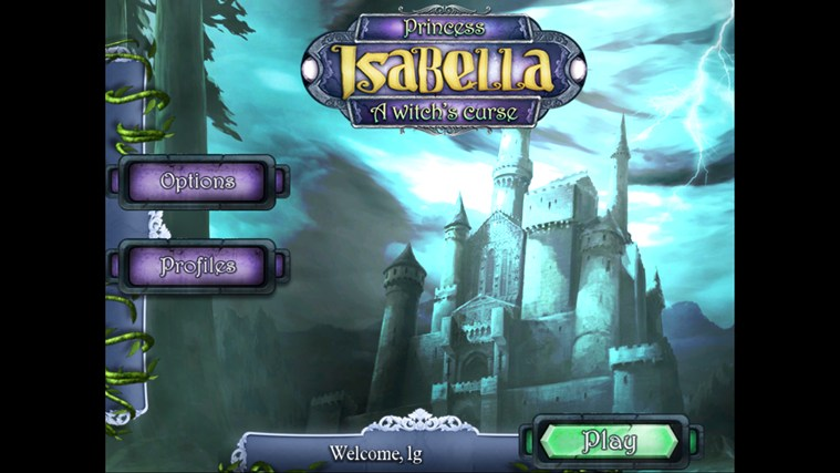Princess Isabella: A Witch's Curse screen shot 0