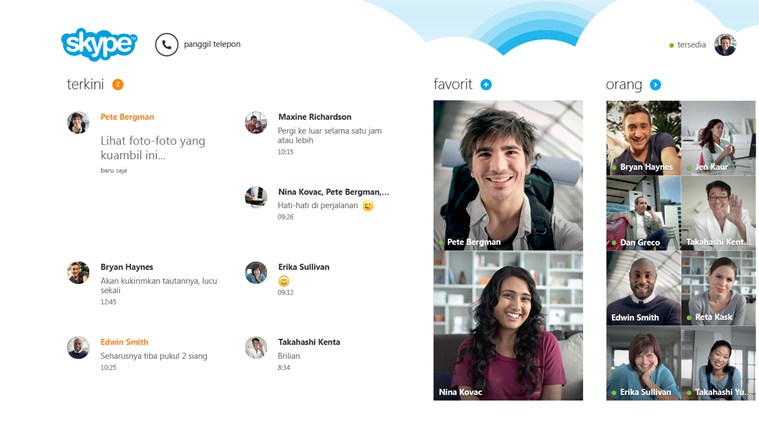 Skype App for Windows 8