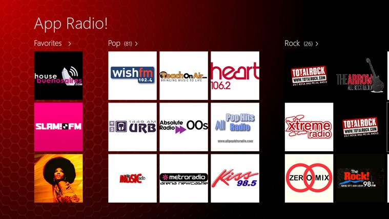 App Radio screen shot 0