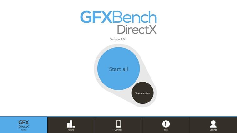 GFXBench DX Benchmark screen shot 2