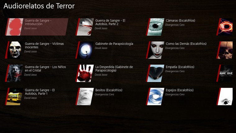 Audiorelatos de Terror screen shot 0