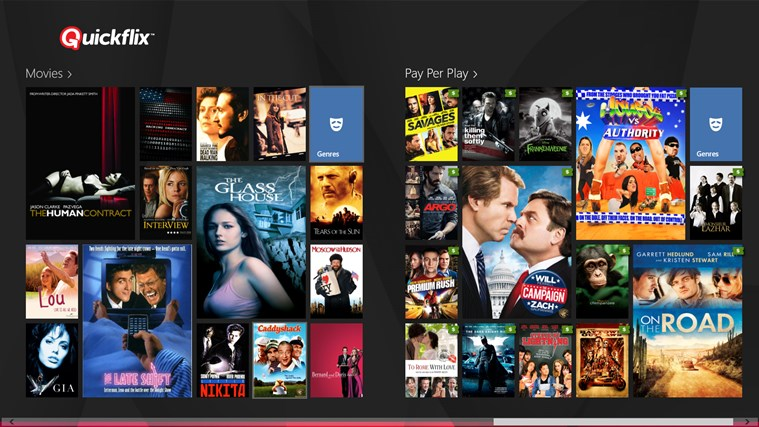 Quickflix screen shot 0