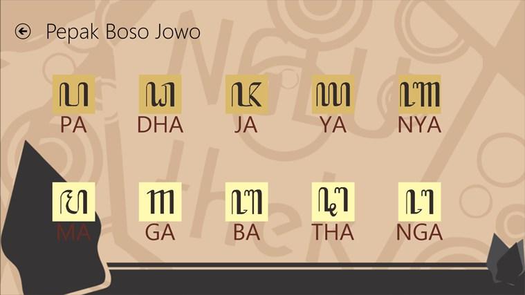 Pepak Boso Jowo screenshot 2