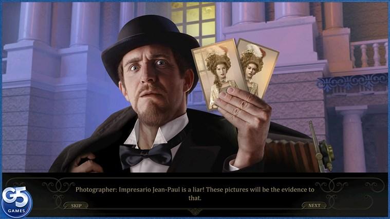 Mystery Of The Opera HD screen shot 2