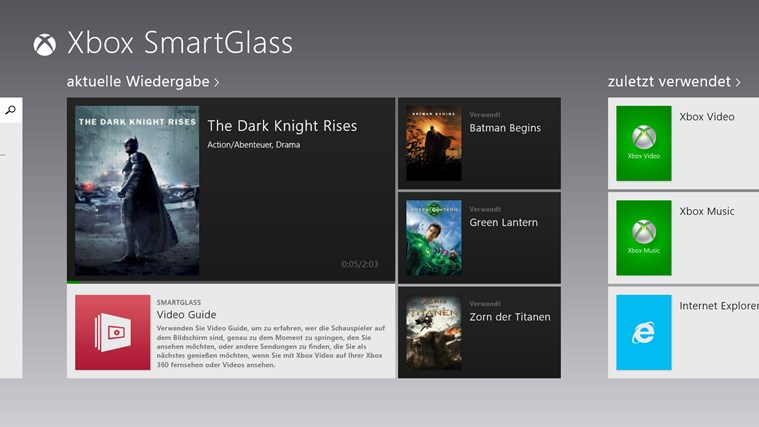Xbox 360 SmartGlass Screenshot 0