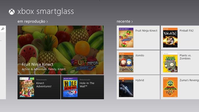 Xbox 360 SmartGlass captura de tela 0