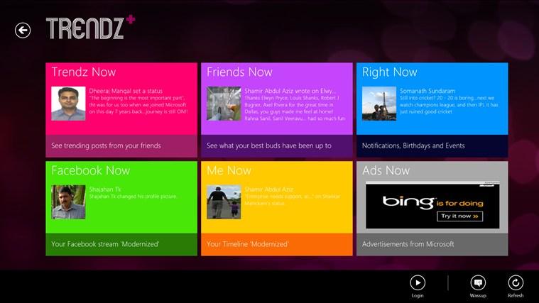 Trendz full screenshot