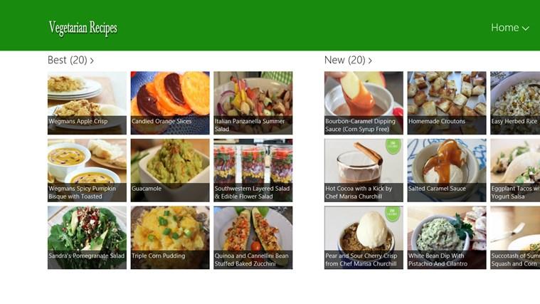 Vegetarian schermafbeelding 0