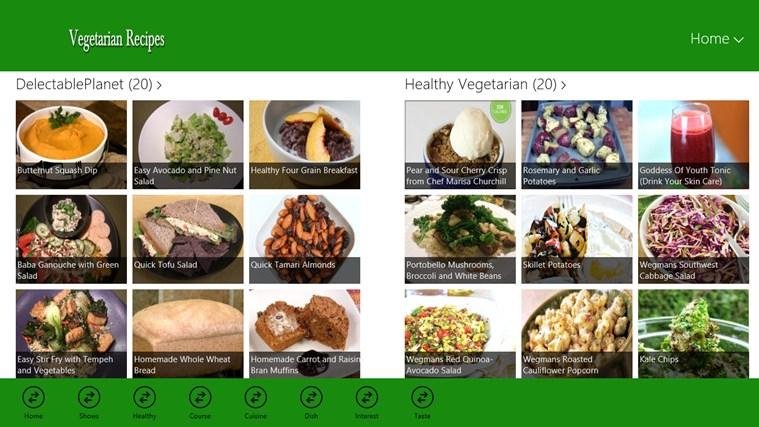 Vegetarian schermafbeelding 2