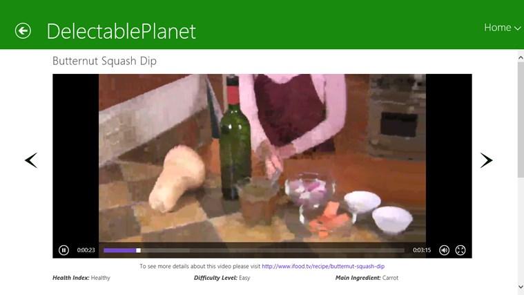 Vegetarian schermafbeelding 4