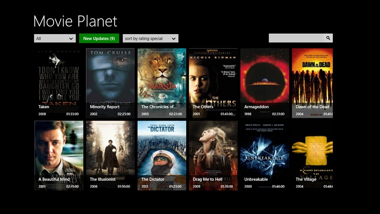 Movie Planet screen shot 0