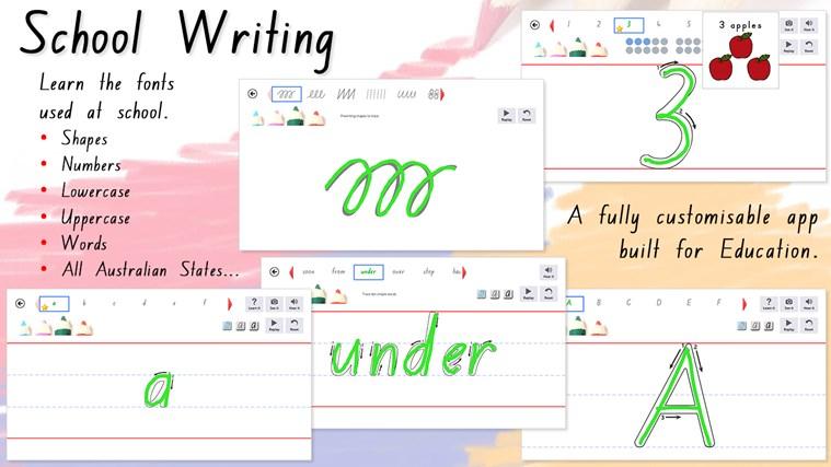 School Writing - AU/NZ screen shot 0