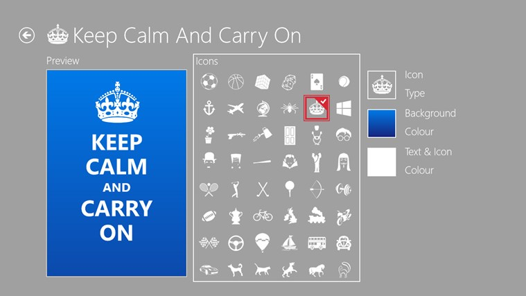 Keep Calm screen shot 2