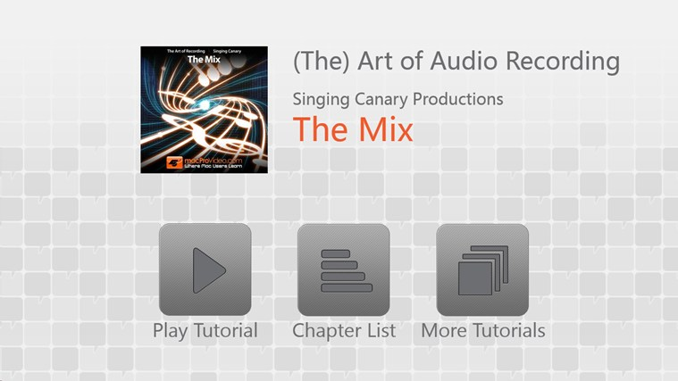 Art of Audio Recording - The Mix screenshot 0