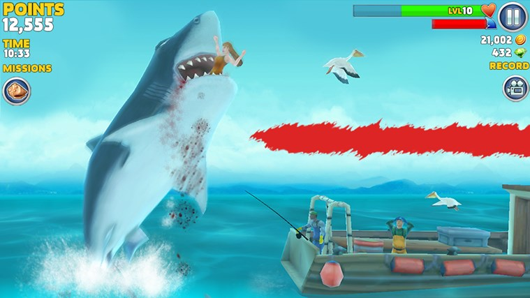 Hungry Shark Evolution screen shot 0