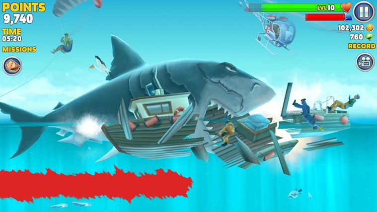 Hungry Shark Evolution screen shot 2