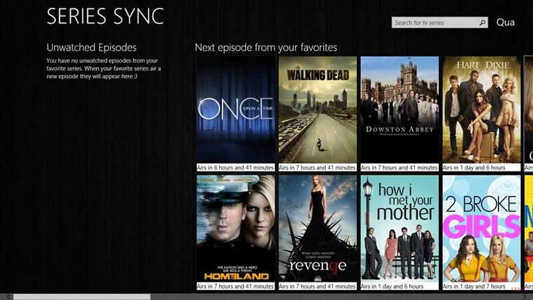 Series Sync captura de pantalla 0