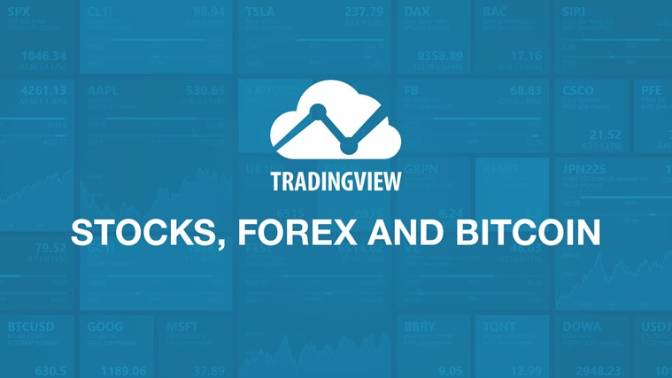 TradingView Stocks, Forex and Bitcoin screen shot 0