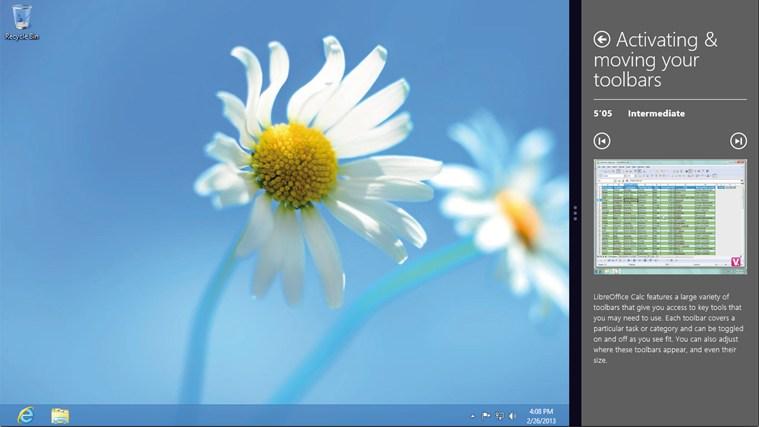 LibreOffice Calc Training skærmbillede 4
