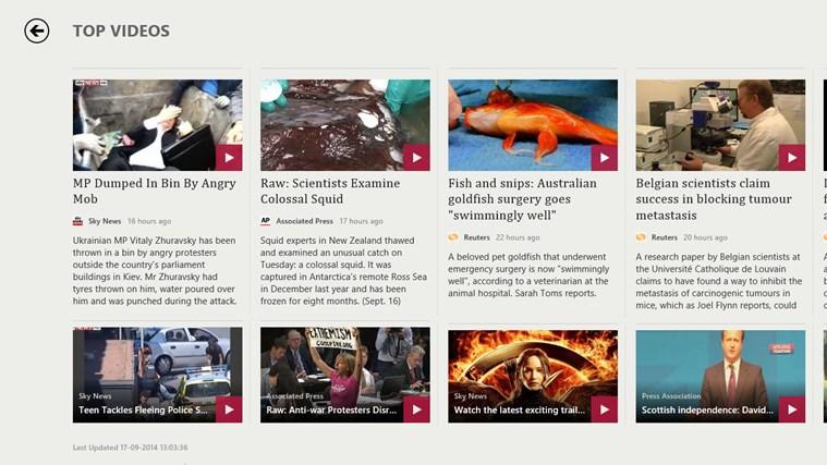 MSN News screen shot 6
