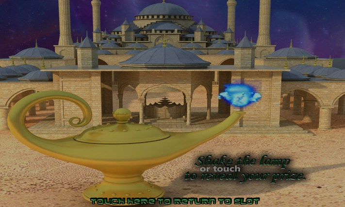 GENIE MAGIC SLOT MACHINE Screenshot 2