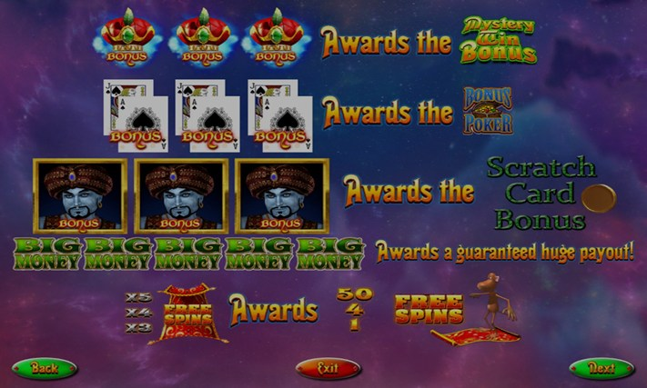 GENIE MAGIC SLOT MACHINE Screenshot 4