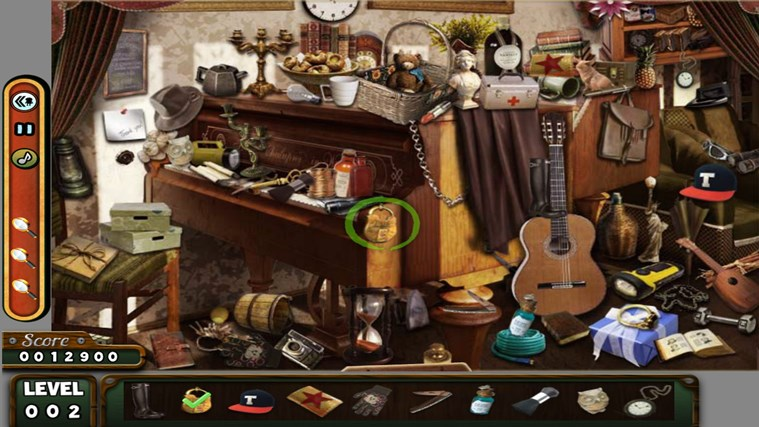 Hidden Objects- The Room- The Wallet- The House game screen shot 0