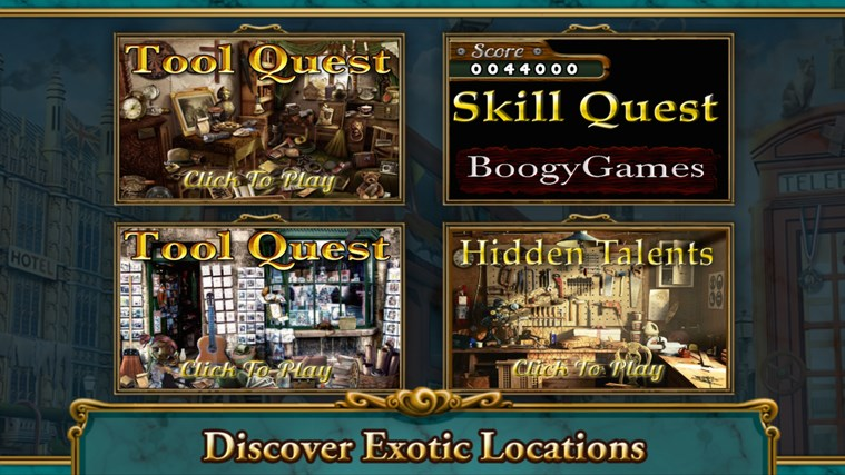 Hidden Objects- The Room- The Wallet- The House game screen shot 2