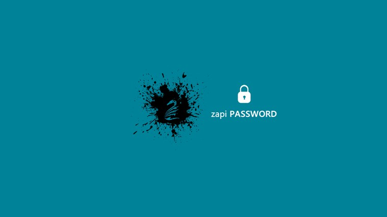 Zapi Password full screenshot
