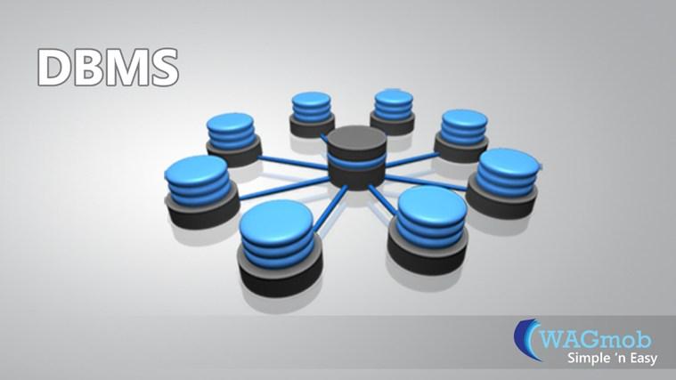 DBMS by WAGmob سکرین شاٹ 0