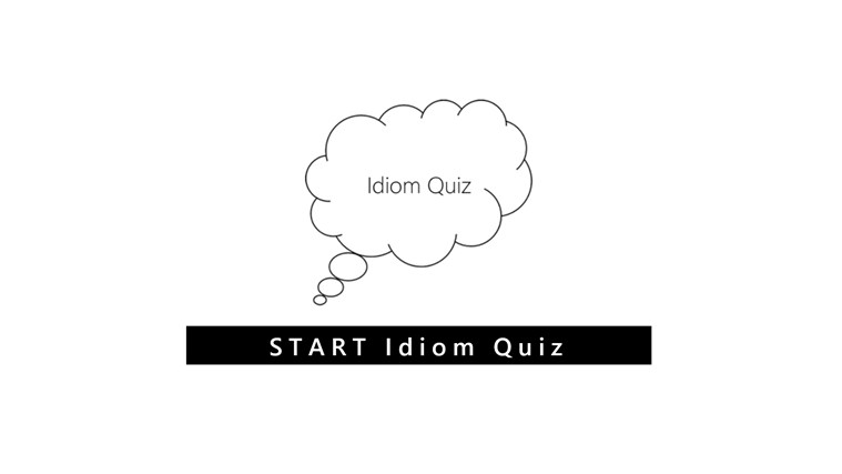 Idiom quiz screen shot 0