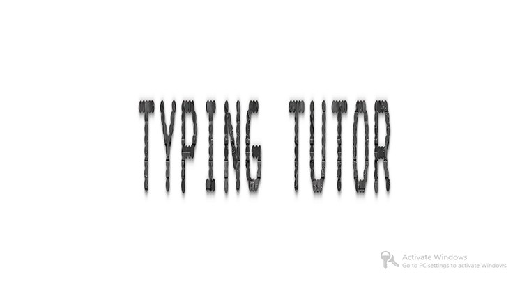 Typing Tutor Pro screen shot 0