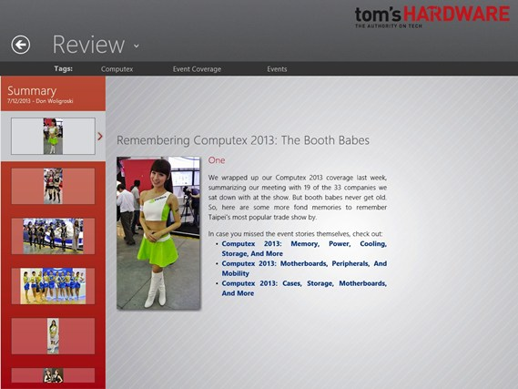 Tom's Hardware screen shot 2