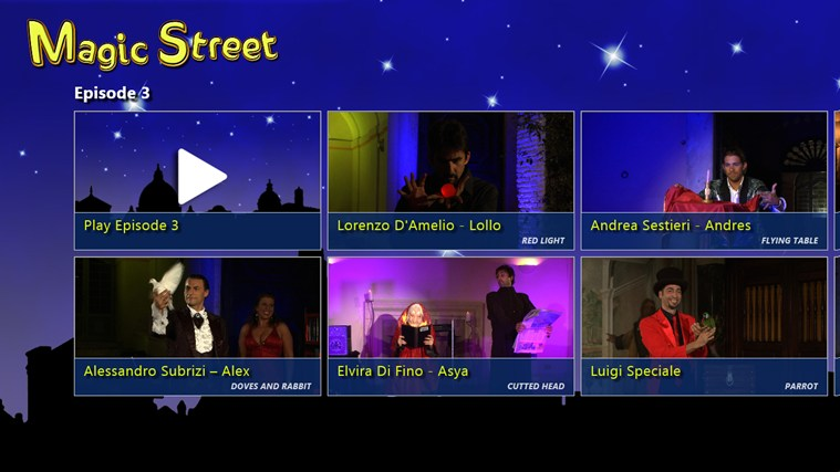 Magic Street Ep.3 - 3D στιγμιότυπο οθόνης 0