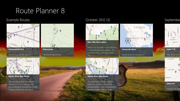 Route Planner 8 screen shot 0