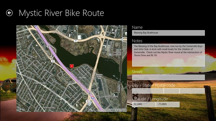 Route Planner 8 screen shot 4