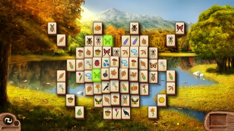 Microsoft Mahjong screen shot 4