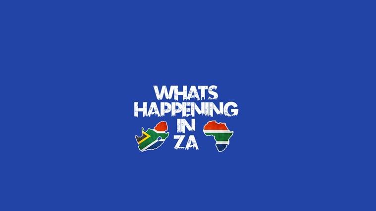 Whatz Happening In ZA skermskoot 0