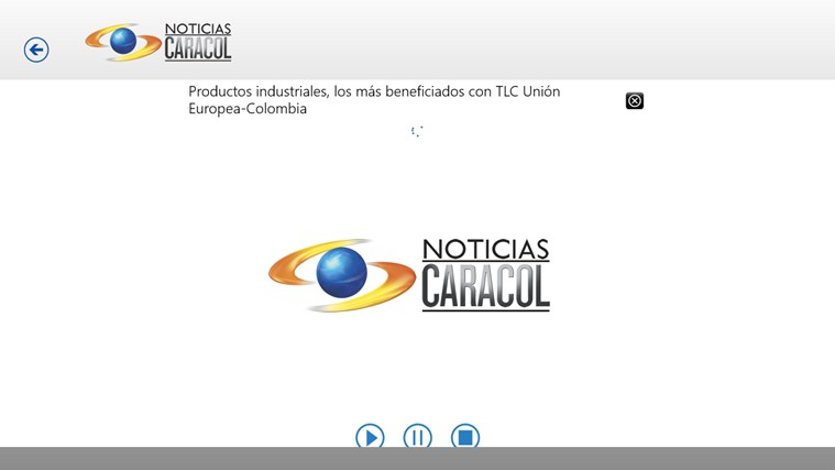 Noticias Caracol screen shot 4