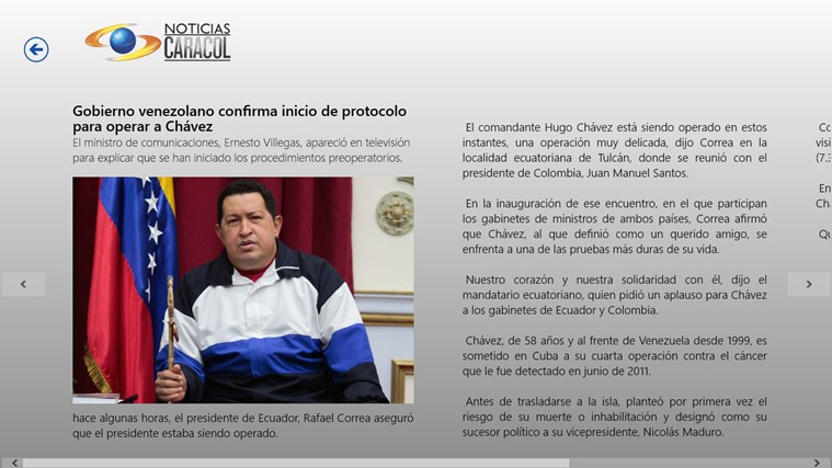 Noticias Caracol screen shot 6