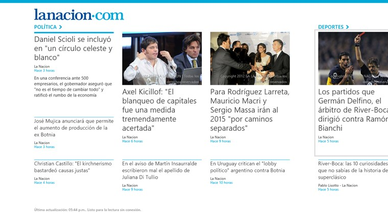 LA NACION screen shot 0